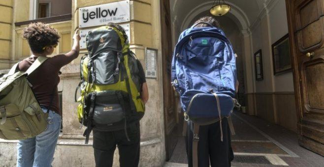 The Yellow Roma, dormire in ostello a Termini