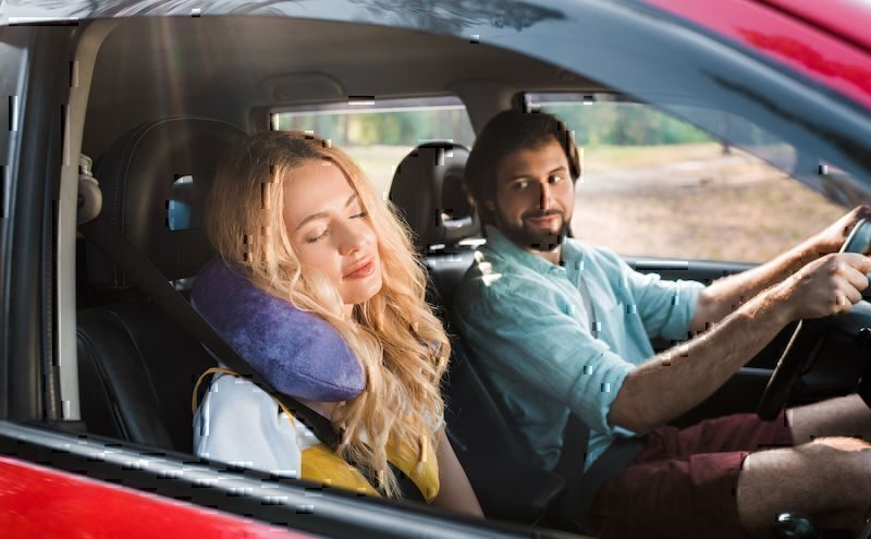 Auto viaggio in coppia