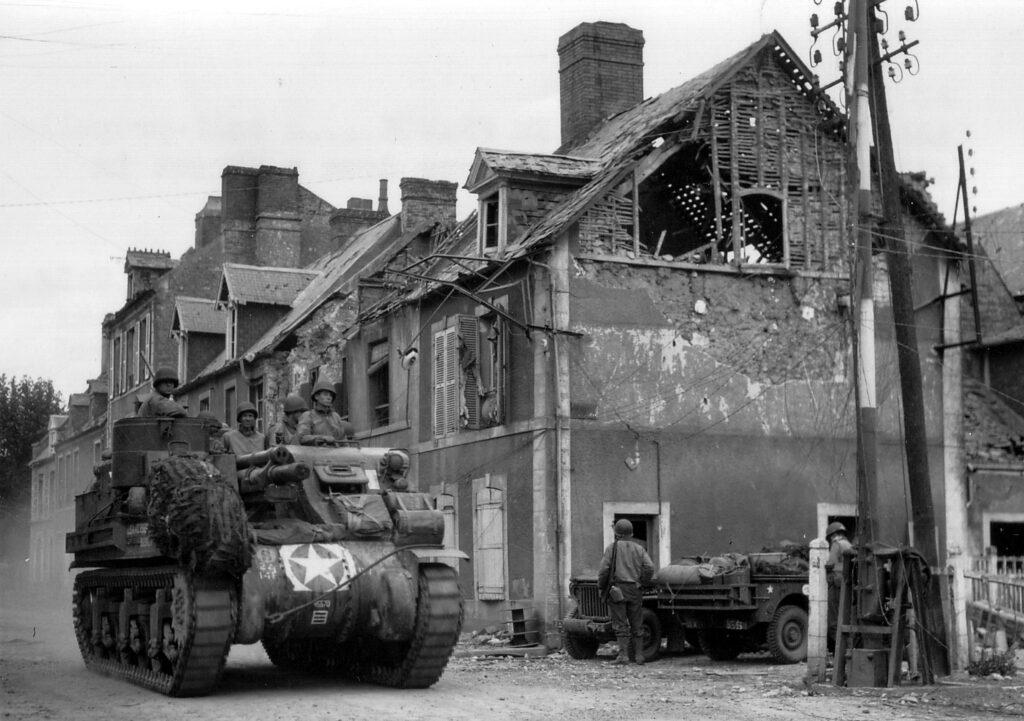 Carentan nel 1944